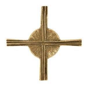 Bronzekreuz mit Sonne